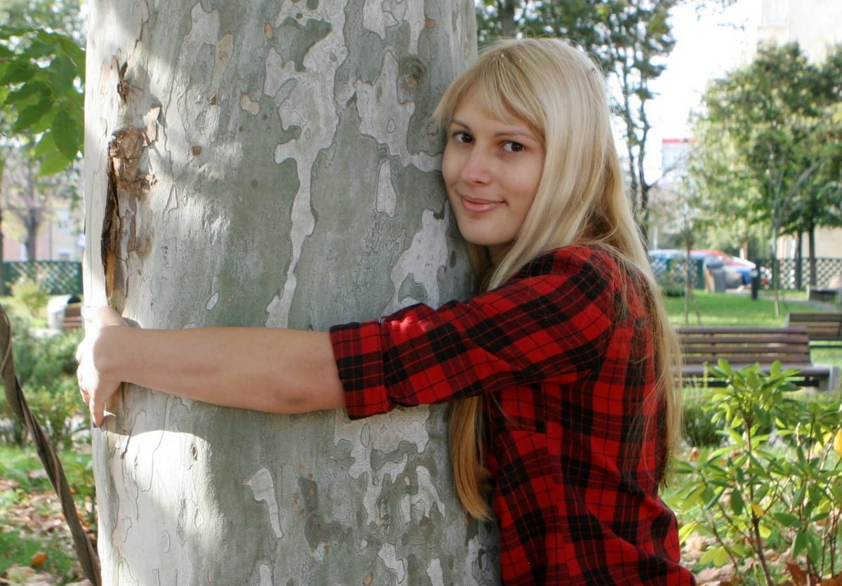This how I became a tree hugger…